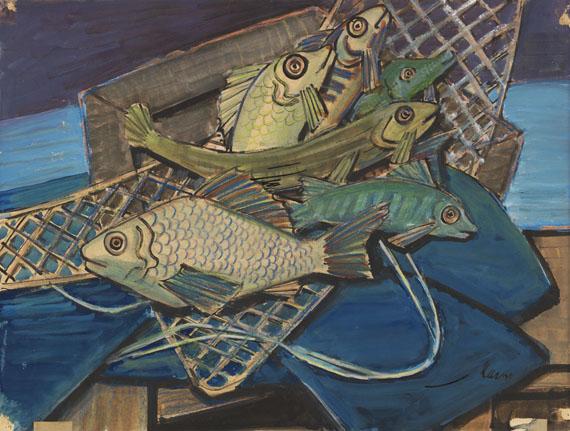 Emil Maetzel, Fische