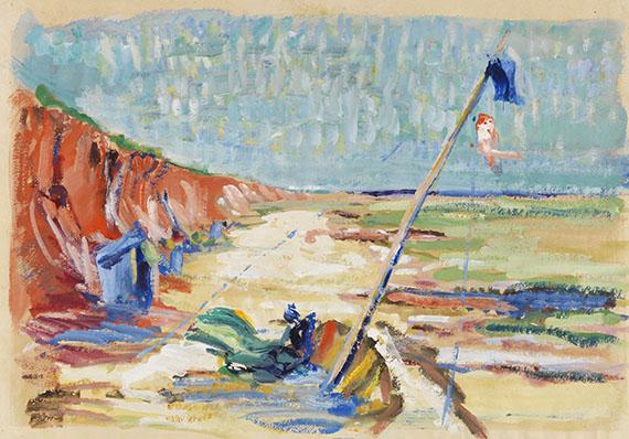 Wilhelm Ohm, Rotes Kliff (Sylt)