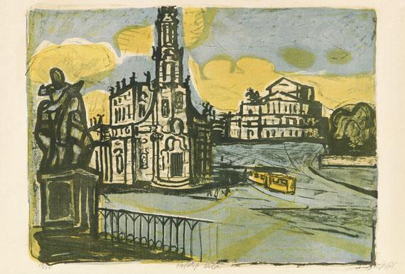 Otto Dix, Hofkirche in Dresden
