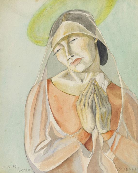Dodo (d. i. Dörte Clara Wolff), Betende