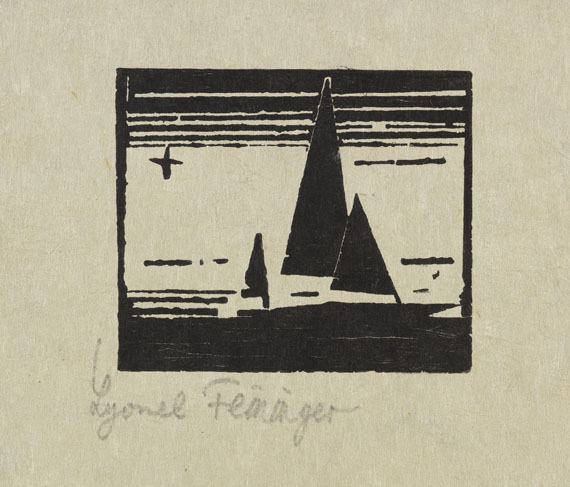 Lyonel Feininger, Ketsch mit Stern