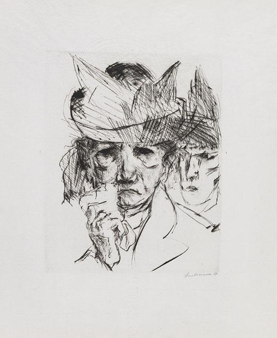 Max Beckmann, Weinende Frau