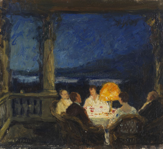 Otto Pippel, Sommerabend
