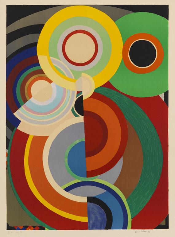 Sonia Delaunay-Terk, Automne