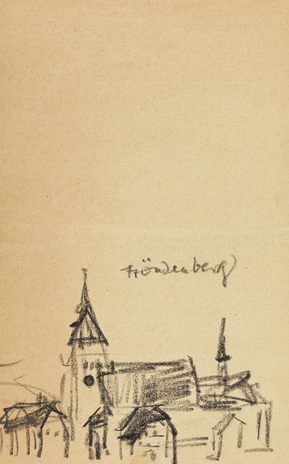 Lyonel Feininger, Fröndenberg
