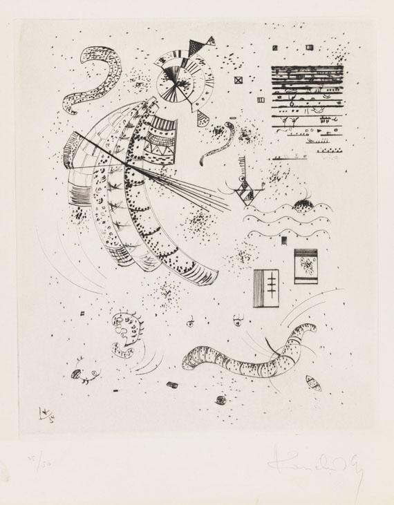 Wassily Kandinsky, 24 Essais de Jakovski