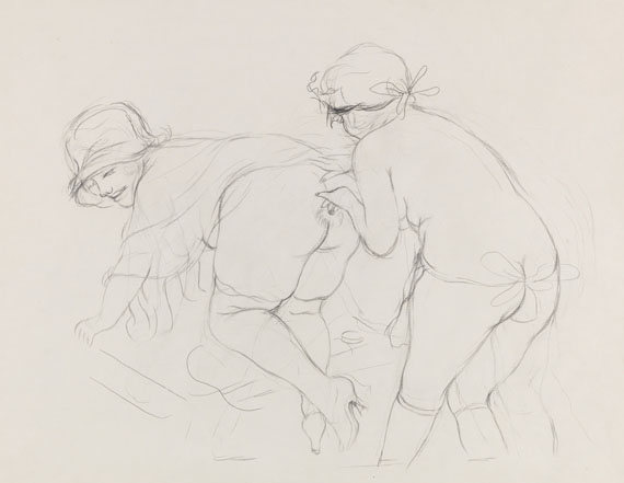George Grosz, Erotische Szene