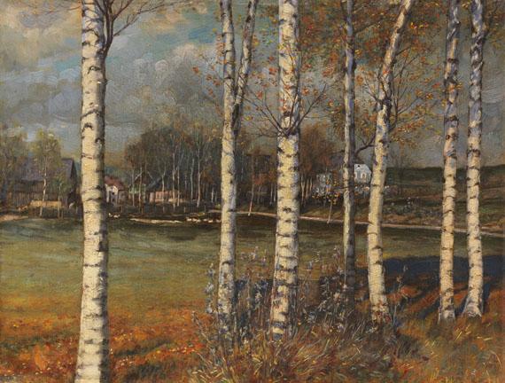 Melchior Lechter, Birkenwald