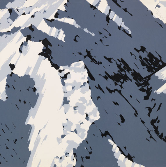 Gerhard Richter, Schweizer Alpen I