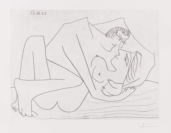 Pablo Picasso, Étreinte III