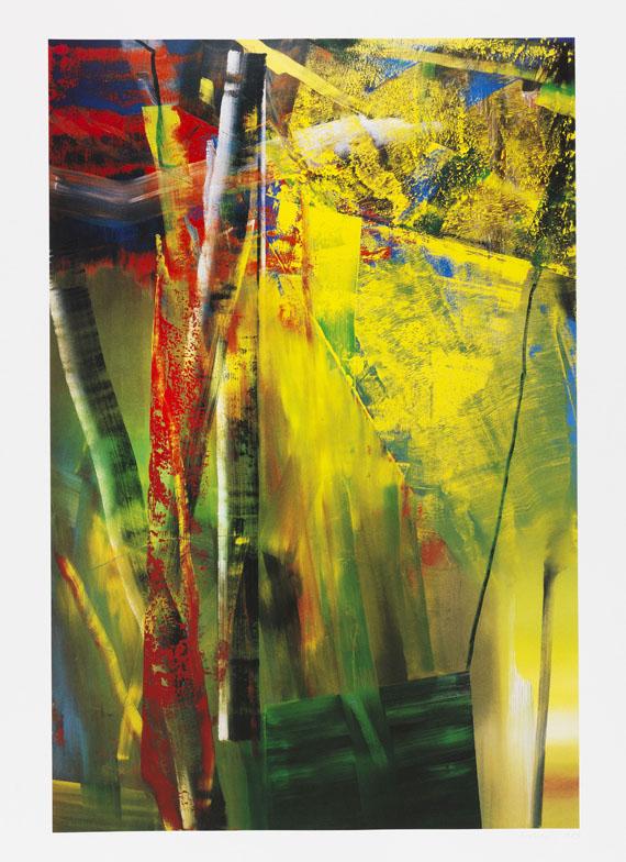 Gerhard Richter, 2 Bll.: Victoria I und II
