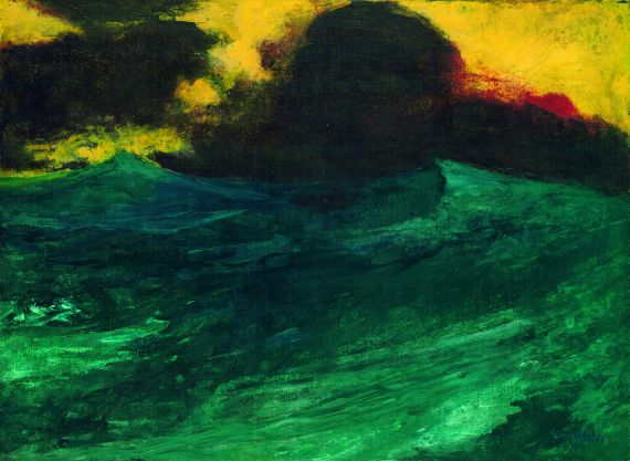 Emil Nolde - Hohe See