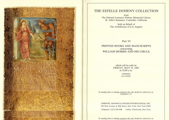 Doheny, E. - Estelle Doheny Collection, 7 Bde. - 1987-89