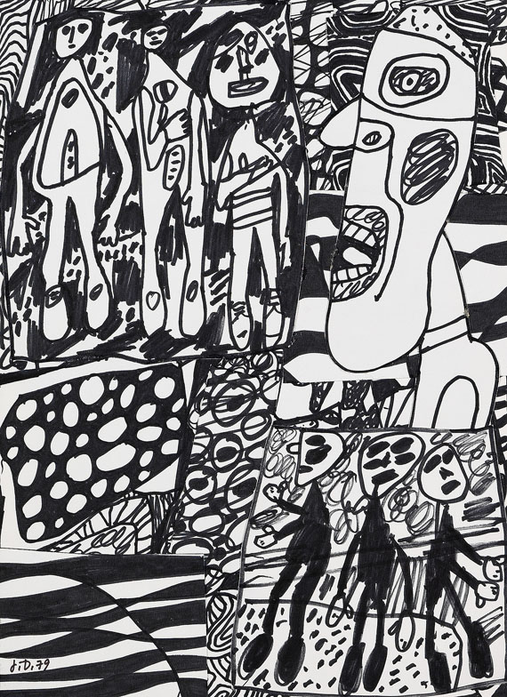 Jean Dubuffet - Situation LXXIII