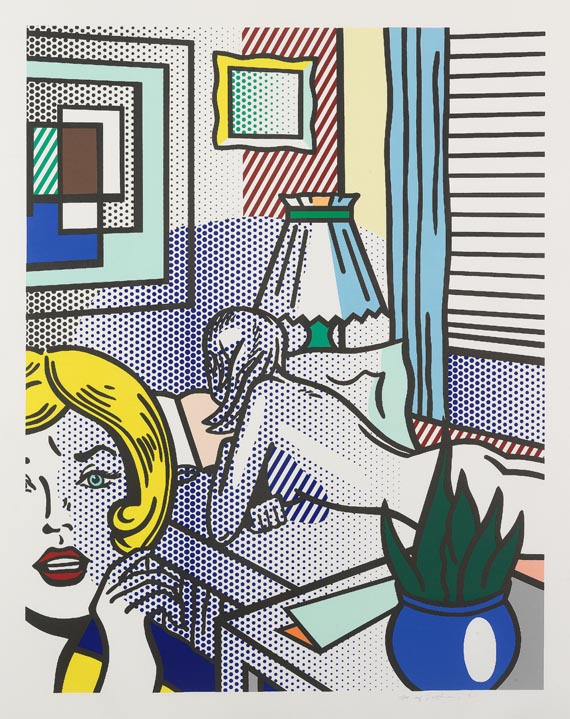 Roy Lichtenstein - Roommates