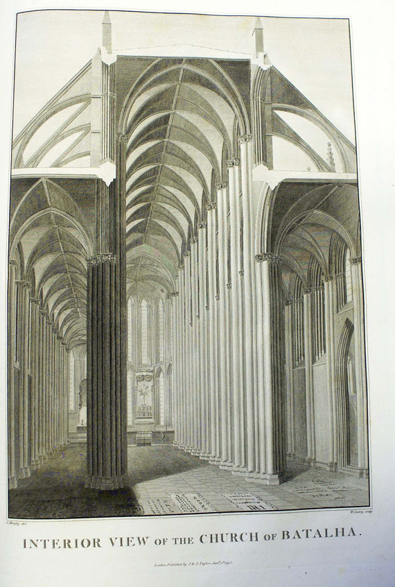James Cavanah Murphy - Plans, elevations ... of the Church of Batalha.