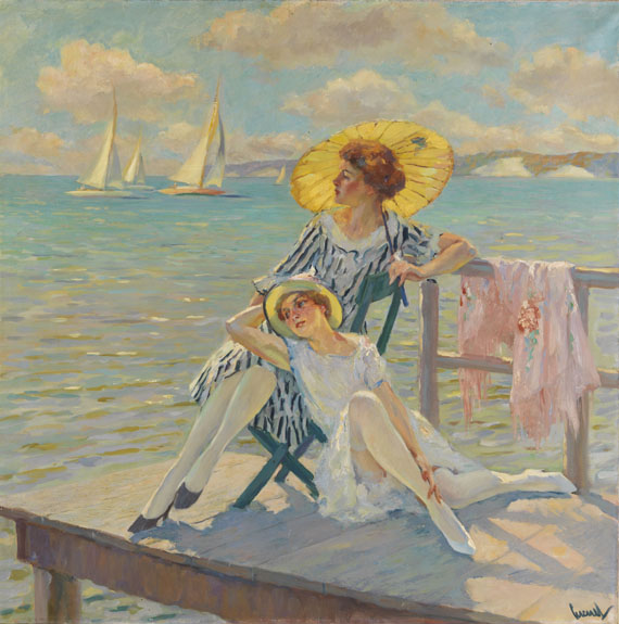 Edward Cucuel - In der Sonne