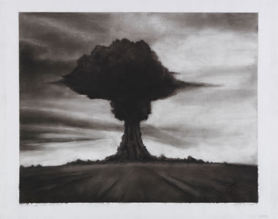 Robert Longo - Study for Joe, Russian bomb Test