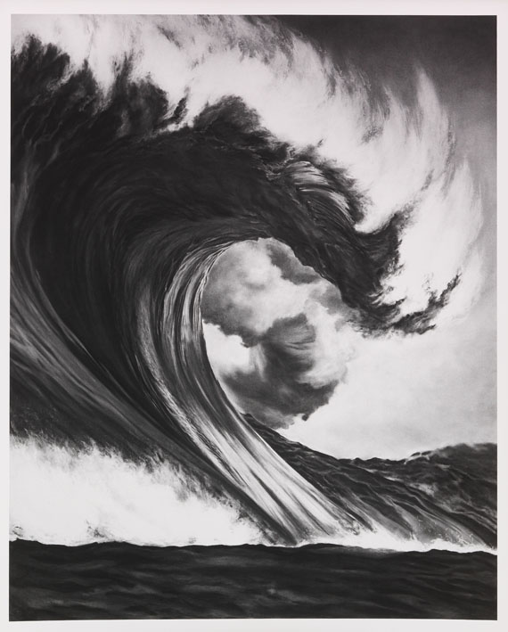 Robert Longo - Untitled (Dragon's Head)