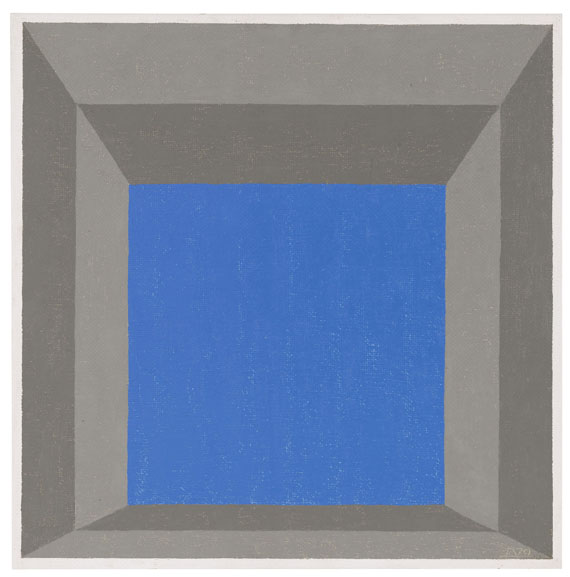 "Josef Albers - Study for Homage to the Square: ""Framed Sky"" C"