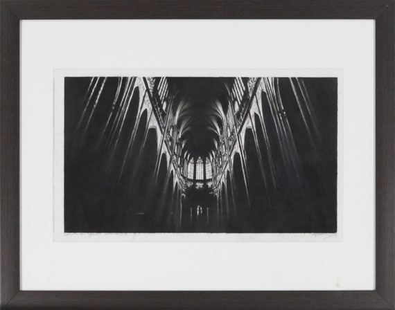 Robert Longo - Study for North Cathedral - Rahmenbild