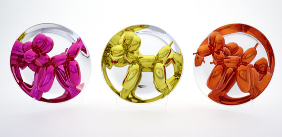 Jeff Koons - Balloon Dogs - Yellow, Magenta, Orange - Weitere Abbildung