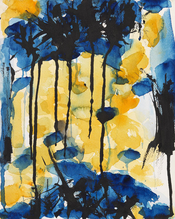 Sam Francis - Untitled (SF 55-122)