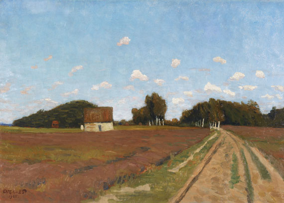 Otto Modersohn - Sommertag bei Worpswede