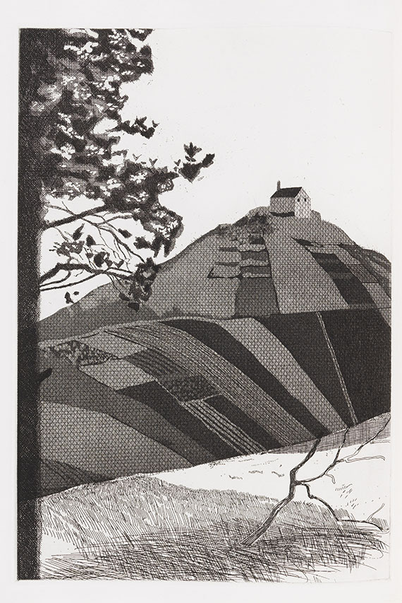 David Hockney - Illustrations for Six Fairy Tales from the Brothers Grimm - Weitere Abbildung