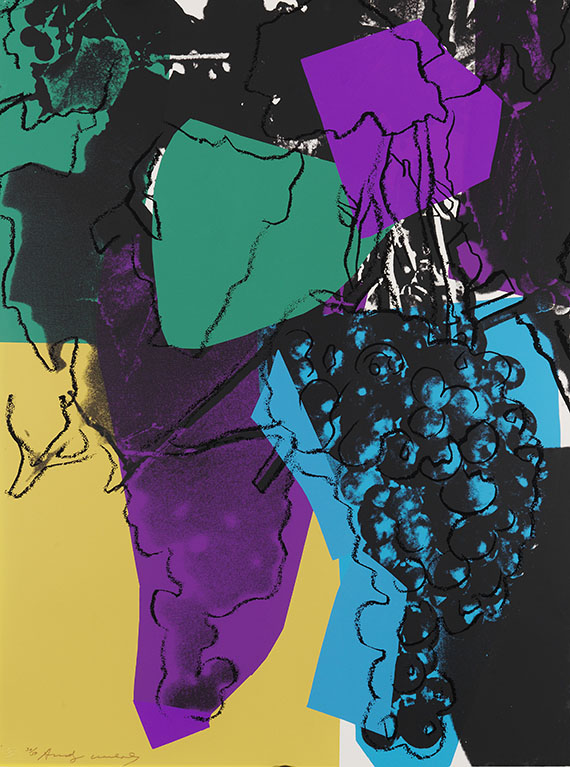 Andy Warhol - Aus: Grapes