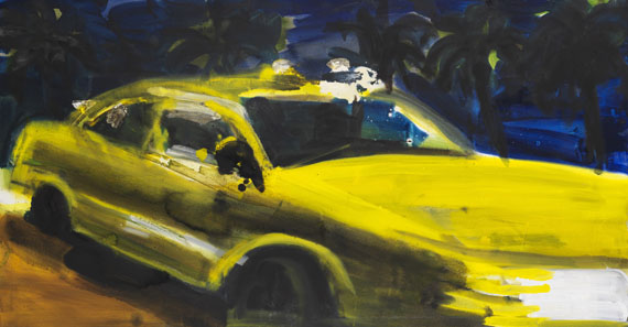 Rainer Fetting - Taxi South Beach