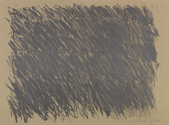 Cy Twombly - Untitled (6 Blätter) - Weitere Abbildung