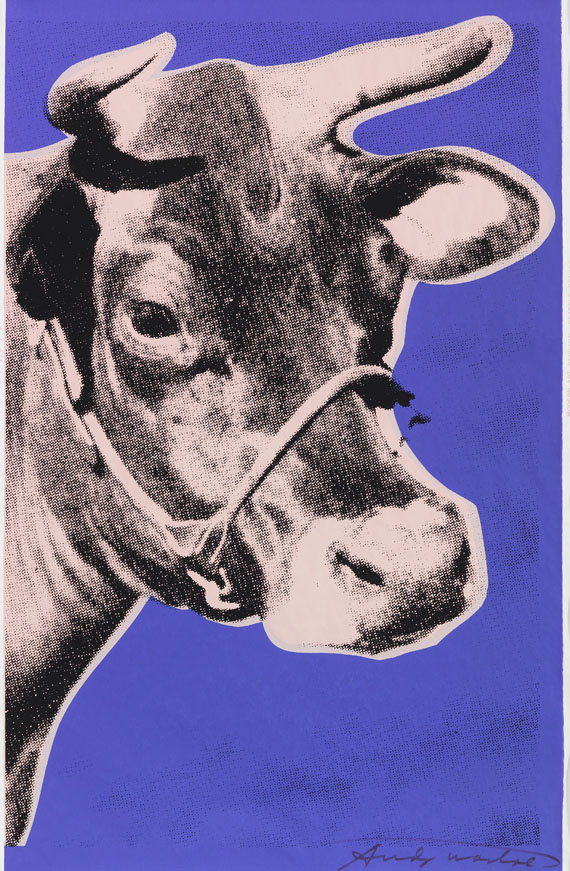 Andy Warhol - Cow