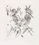 Kandinsky, Wassily - Kaltnadelradierung