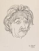 Josef Scharl, Albert Einstein