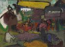Hillern-Flinsch, Wilhelm von - Oil on burlap