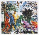 Richter, Daniel - Silkscreen in colors