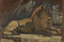 König, Leo von - Oil on panel