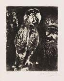 Marc Chagall - Die zwei Papageien, der König und sein Sohn