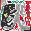 Penck (d.i. Ralf Winkler), A. R. - Silkscreen in colors