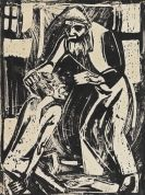 Rohlfs, Christian - Woodcut