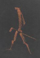 Koenig, Fritz - Colored chalk drawing