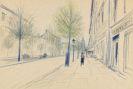 Heldt, Werner - Chalk drawing