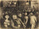 Werner Heldt - Karnevalistische Demonstration