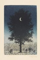 Magritte, René - Etching in colors