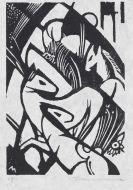 Marc, Franz - Woodcut