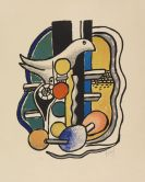 Léger, Fernand - Lithograph in colors