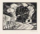 Pechstein, Hermann Max - Woodcut