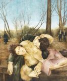 Brungs, Bernhard - Oil on canvas