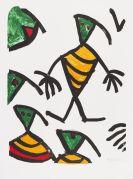 Ionesco, Eugène - Lithograph in colors
